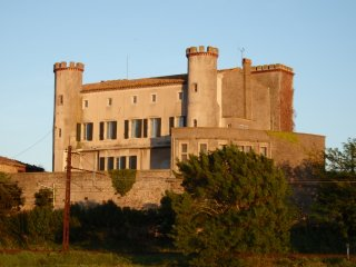 Historic Templar Castle with beautiful views, Douzens