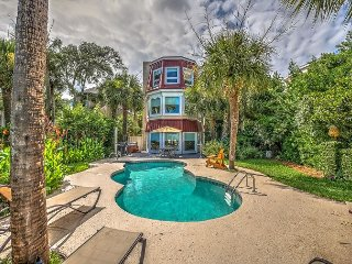 124 N Forest Beach Ct-Oceanfront, Pool & Hot Tub, Hilton Head