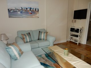 Lounge area with and satellite TV &  blueray DVD player