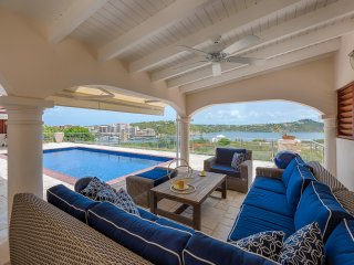 Lagoon View - 3 bedrooms villa, Cupecoy Bay