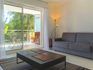 Superbe appart Piscine + A/C + Parking + Terrace, Niza