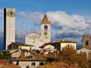ANTICA CASA RESTAURATA CON GIARDINO IN BORGO MEDIEVALE -  IL GIARDINO SEGRETO!, Serravalle Pistoiese
