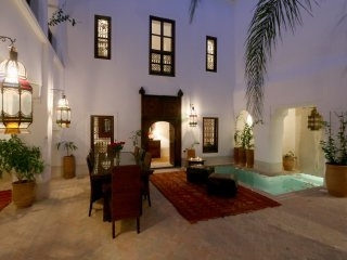 Dar Shariq luxury private rental wifi pool privacy, Marrakech
