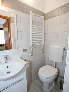 bagno con doccia camera singola