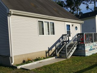 SA Waterfront  Views, Pier at this Park Rental!!!, Chincoteague Island