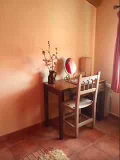 Detalle de la habitación principal.