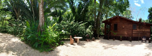 Casita Bonita - Panorama BBQ area