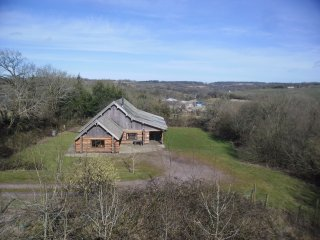 Luxurious log cabin on Blackdown Hills Somerset, Bietole