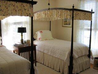 Lewis Mtn. Twins Room- Walk from UVa, Charlottesville