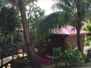 """L'Ilot Palmiers - bungalow """"TOULOULOU"""", Pointe-Noire"""