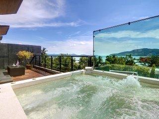 VILLA ROOFTOP PISCINE PRIVEE VUE MER PANORAMIQUE Villa 5 etoiles Super Luxe