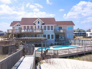 Spectacular Oceanfront Home 7 BR/6 Ba Pool Hot Tub, Corolla