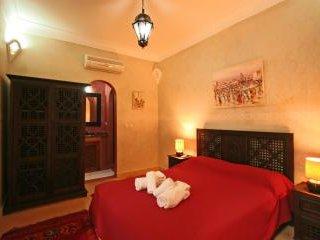 Chambre d'h'ôtes dans un  Riad de la Médina