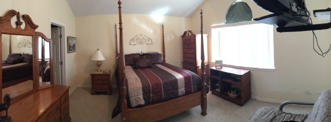 Panoramic view of Master Bedroom