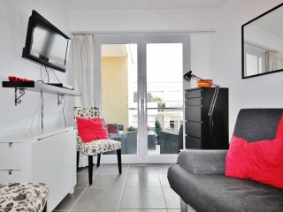Cosy Antibes Rental with Sea View and Balcony