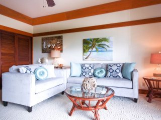 Kiahuna 307-Impressive 1 bd end unit with wonderful interiors-Free car with stays of 7 nights or more, Poipu