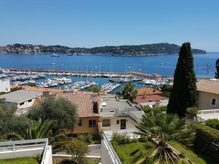 Le Pointu, amazing sea view, private pool, parking, Villefranche-sur-Mer