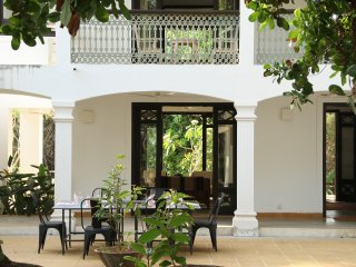 Two homes on a hill by the river: Banyan and Teak., Goa Velha