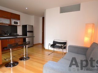CELIA - 1 Bed Modern Apartment with modern design - Chico Norte II, Bogota