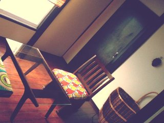Japanese style house upstairs of African cafe/Kobe