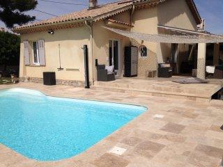 CANNES A 5 MIN  villa piscine ,pétanques, Le Cannet