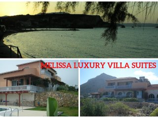 Melissa Luxury Villa Suites with pool and sea view