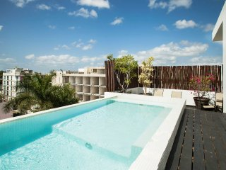 LFT - 1bd Apartment w/ Jacuzzi and Private Terrace, Playa del Carmen
