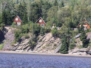Les Chalets du Parc Penouille Forillon Gaspé Qc, Gaspe