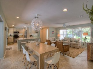 Island Dreams: Beautifully Remodeled West Gulf Drive Pool Home & Beach Oasis!