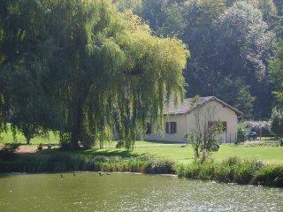 Gite au pied du vercors avec étang pour la pêche, Chatuzange-le-Goubet