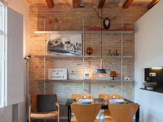 Modern design apartment, Barcelona