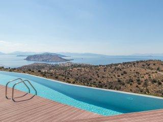 Villa Luna in Aegina island, Perdika area