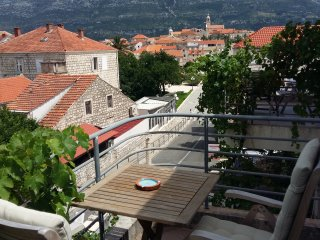 Room with a view on the old Korcula town - Blue