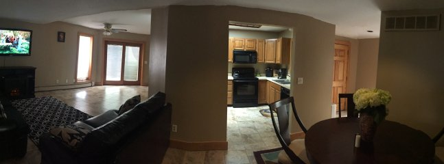 Panoramic view of the living area
