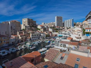 Cabanon 45m2+Terrasse 15m2 face mer, Marselha