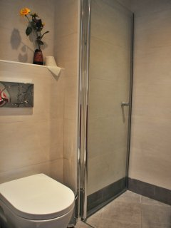 Corner of upper  shower room
