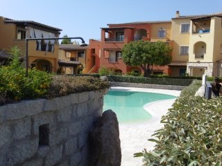 Apartment in residence with swimming pool, Porto San Paolo
