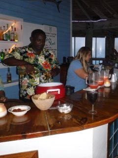 Rum punch parties & live music at the beach bar & resort a short walk from home