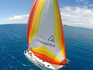 Sailing San Blas Islands aboard Catamaran Ipanema