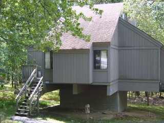 Treehouse Cabin Bushkill Poconos PA  Pool & Lake