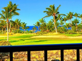 Stunning Shores Penthouse Villa 23 | 2 Ensuite- Wrap-around Lanai w/BBQ, Waikoloa