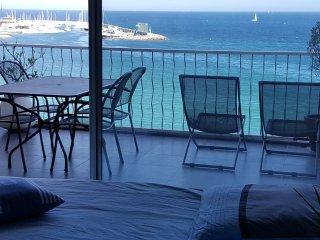 Appart  front de mer sur le Golfe de saint tropez, Ste-Maxime