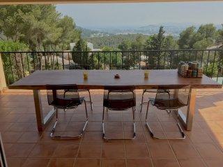Beautiful villa with breathtaking sea view, Ibiza Ciudad