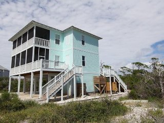 5 Bedroom, 4.5 Bath Gulf View Home with a Private Pool, Cape San Blas