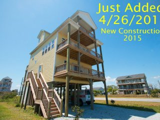 3rd Avenue 8602 | Easy Beach Access  | New Construction 2015! Elevator, North Topsail Beach