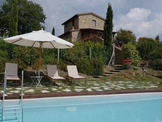 Villa Le Crete, Castelmuzio
