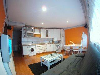 apartamento 1 habitacion+ sofa cama+ parquing, Suances