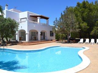 casa con piscina para 12 pax. Playa d'en bossa, Sant Jordi