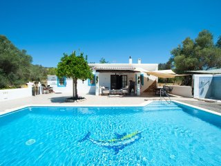 STUNNING CHEERFUL RUSTIC HOUSE villa  5 DOUBLE bedrooms, pool WIFI & SEA