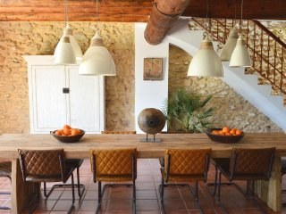 Rustic Spanish house for 8 people in the mountains, Enguera